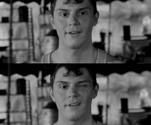 evan peters, ahs, and freak show image