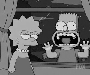 bart, brother, and funny image