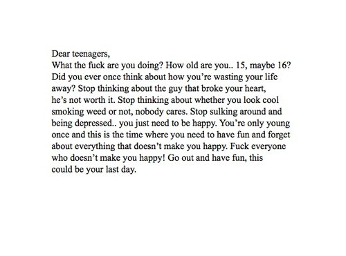 patronising, quote, quotes, teenagers - inspiring picture on ...