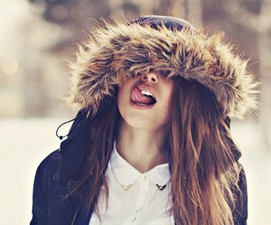 girl, lol, and winter image
