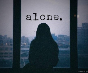 alone and life image