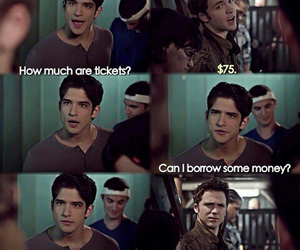 funny, teen wolf, and scott image