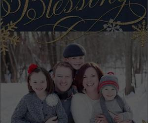blessings, christmas cards, and christmas wishes image