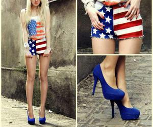usa, america, and blue image