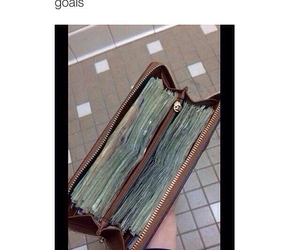 money, goals, and 2015 image