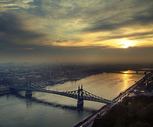 bridge, budapest, and city image