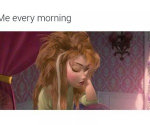 morning, funny, and frozen image