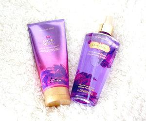 Victoria's Secret, purple, and pink image