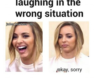 funny, jade thirlwall, and little mix image