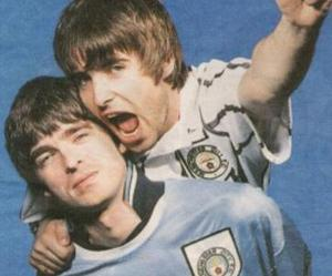brothers, liam gallagher, and noel gallagher image