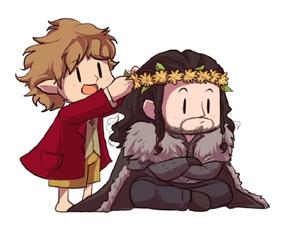 bilbo, the hobbit, and baggins image