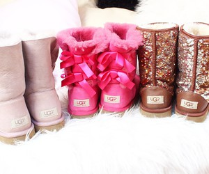 girly, shoes, and ugg image