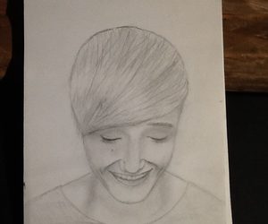 drawing, love, and isacelliot image