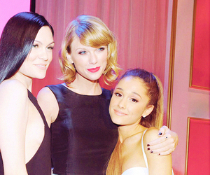 Taylor Swift, ariana grande, and jessie j image