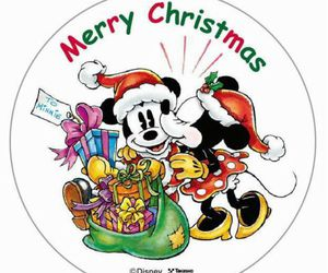 disney, kiss, and merry christmas image