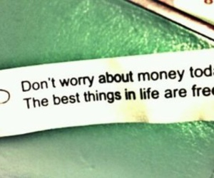 quote, free, and money image