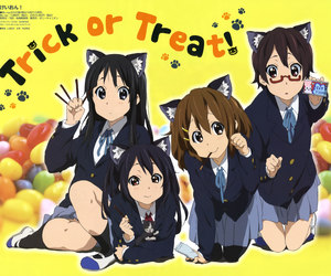 anime, cute, and cats image