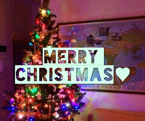 family, happy, and merry christmas image