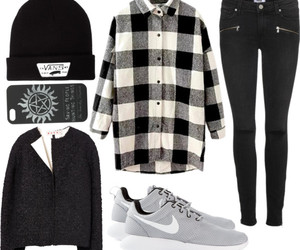 black, clothes, and fashion image