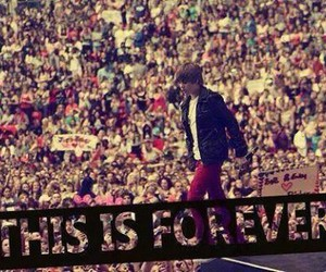 forever, justin bieber, and beliebers image