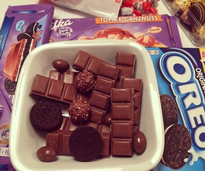 chocolate, oreo, and food image