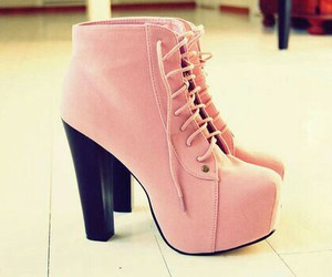 boots, high, and fashion image