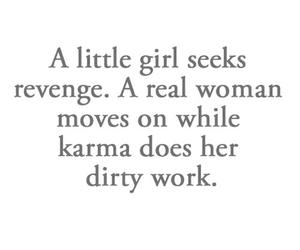 girl, karma, and revenge image