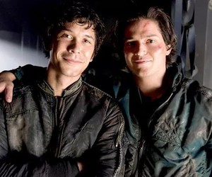 the 100, bob morley, and thomas mcdonell image