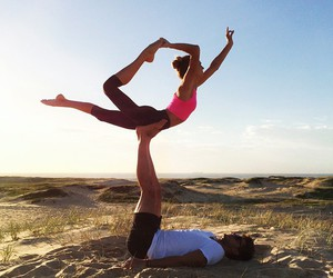 fit, couple, and fitness image