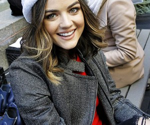 lucy hale, christmas, and pll image