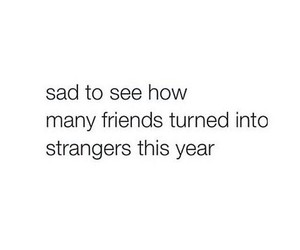 friends, sad, and stranger image