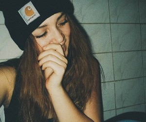 carhartt, curly, and hair image