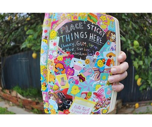 wreck this journal and tumblr girl image