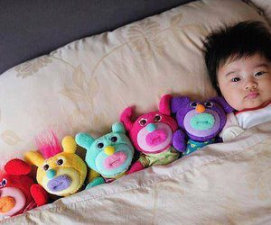 baby, cute, and toys image