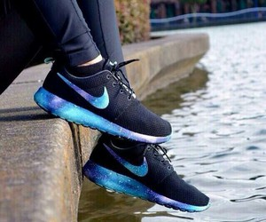nike, galaxy, and shoes image