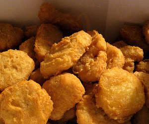 food, nuggets, and Chicken image