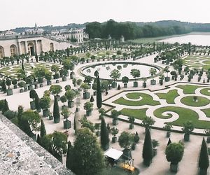 france, gardens, and versailles image