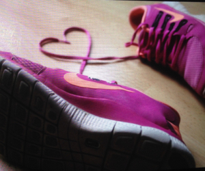 free, heart, and nike image