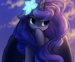 cutie, MLP, and princess of night image