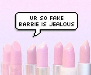 barbie, pink, and fake image