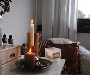 candles and home image