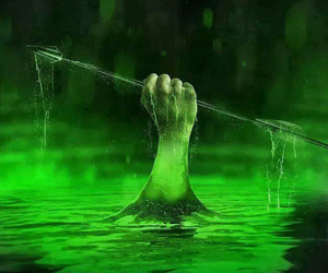 arrow and lazarus pit image