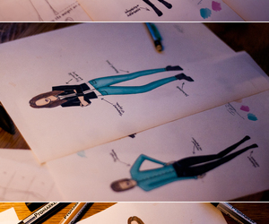 clothes, drawing, and ellen image