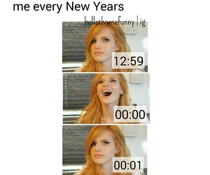 christmas, bella thorne, and funny image