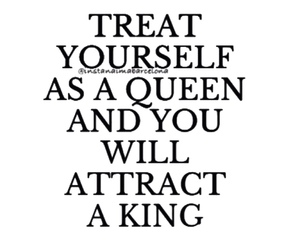 Queen, king, and quote image