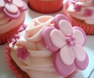 pink and cupcake image