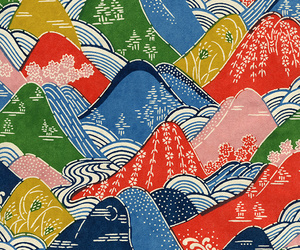 colourful, pattern, and pinterest image