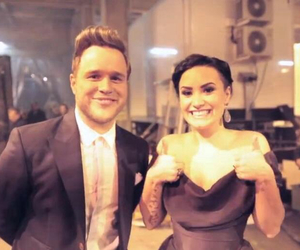 demi lovato and olly murs image