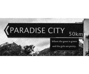 city and paradise image
