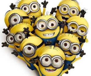 2, heart, and minions image